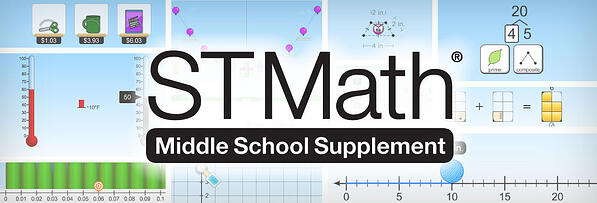 ST math intervention programs Middle School