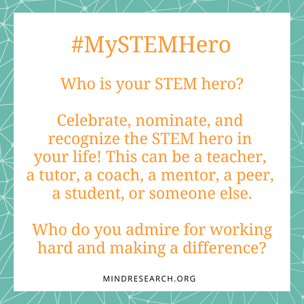 #MySTEMHero-STEM-day-Question