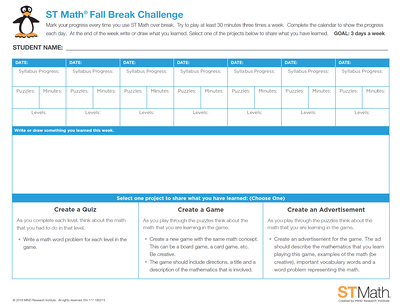Fall-Break-Challenge