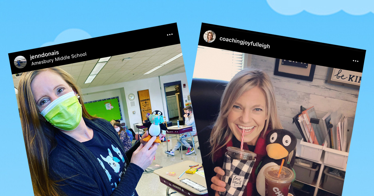 Jenn and Leigh Take Over ST Math Instagram_
