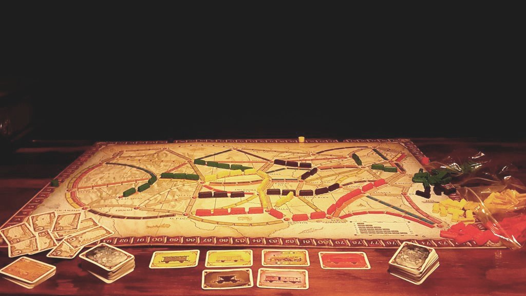 math board games for kids ticket to ride