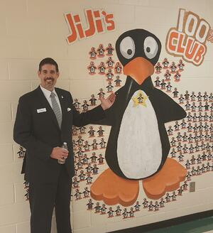 Rob Magliano poses with JiJi