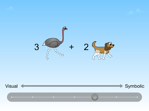 multiplication visual learning game