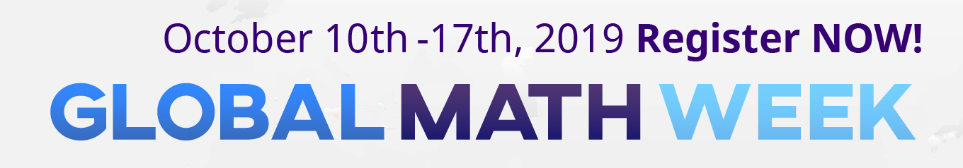 Global Math Week 2019