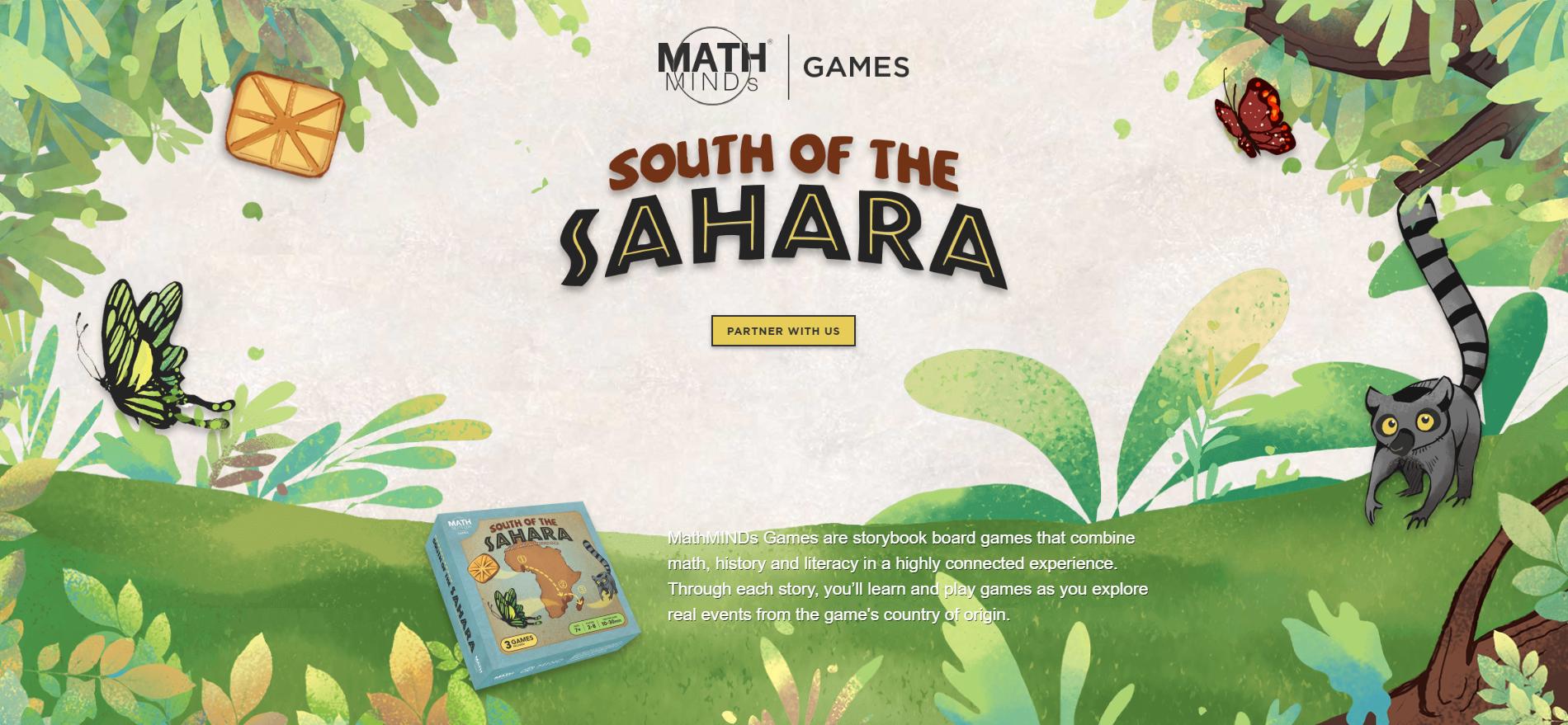 mathminds-games-webpage