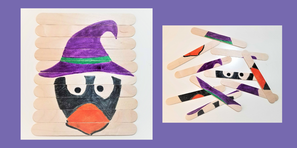 JiJi Witch Hat Halloween Puzzle