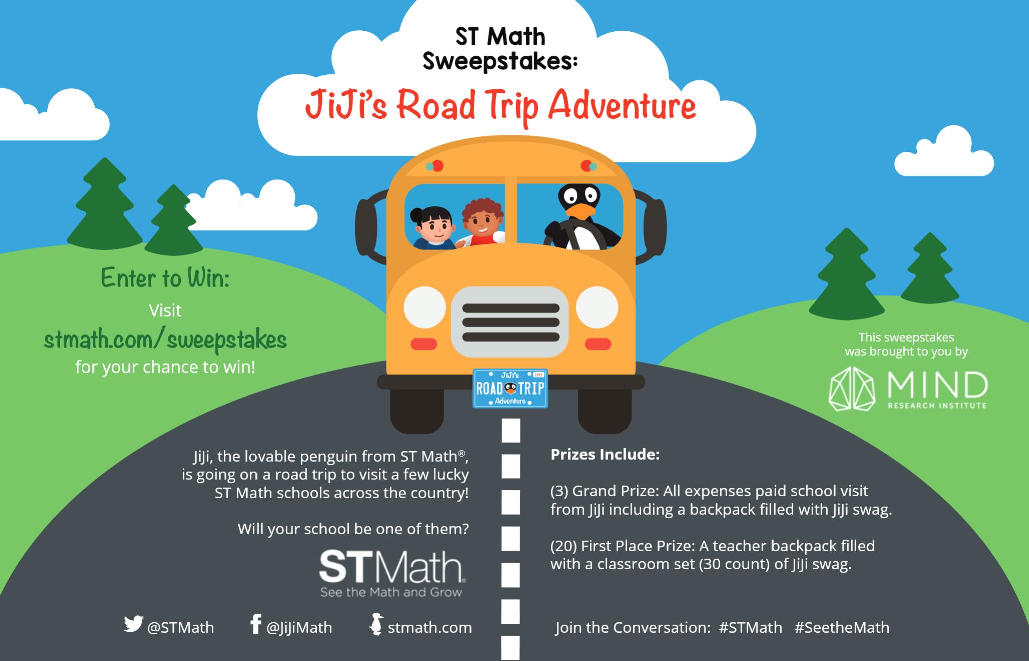 JiJi's Road Trip Adventure Flyer