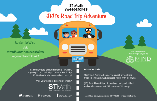 JiJi's Road Trip Adventure Flyer