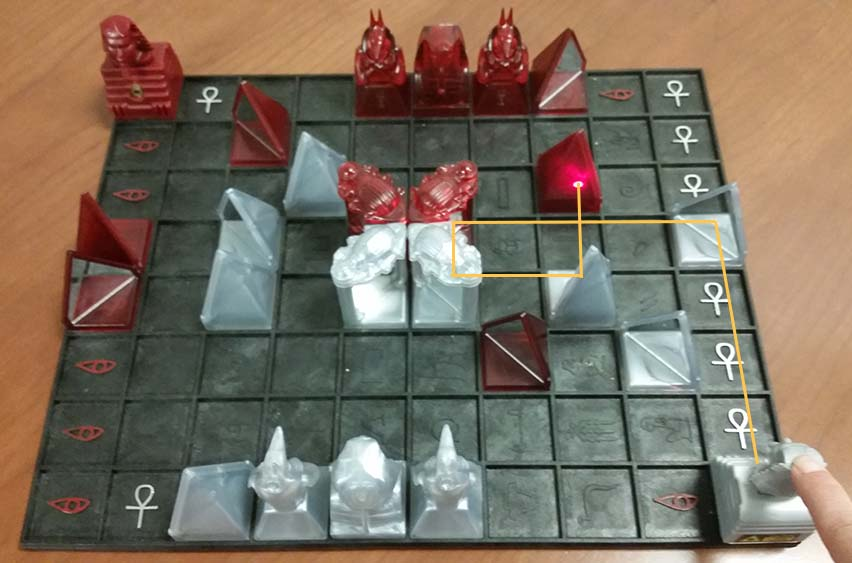 Khet in the big list of mathemaitcal board games