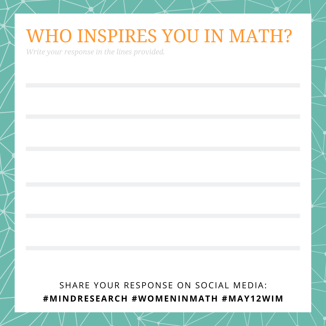 Who inspires you in math?