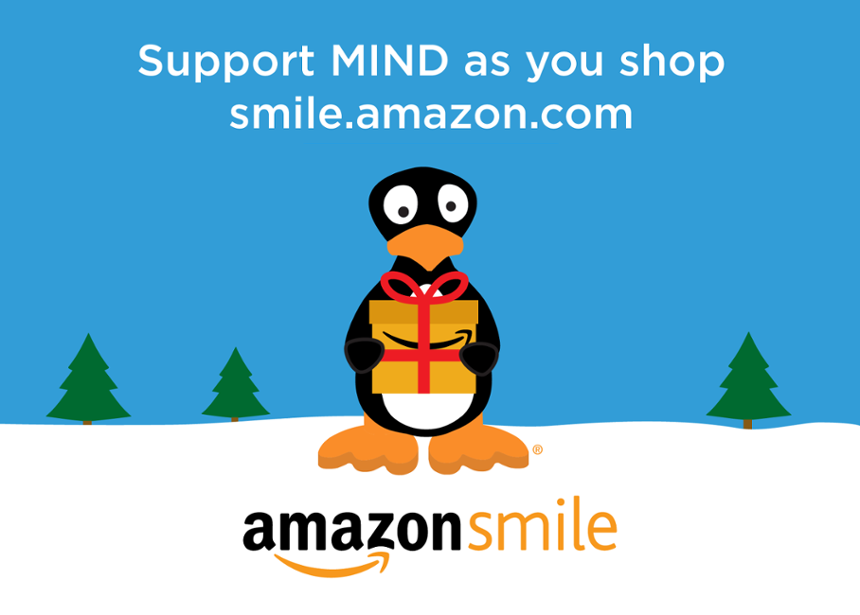 Support MIND With AmazonSmile