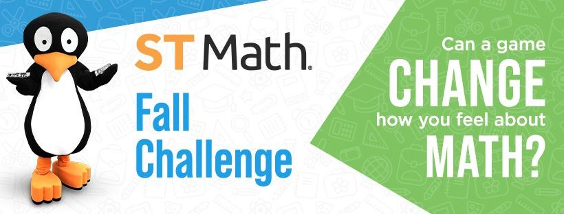 Fall ST Math Challenge