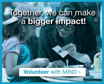 Volunteer with MIND